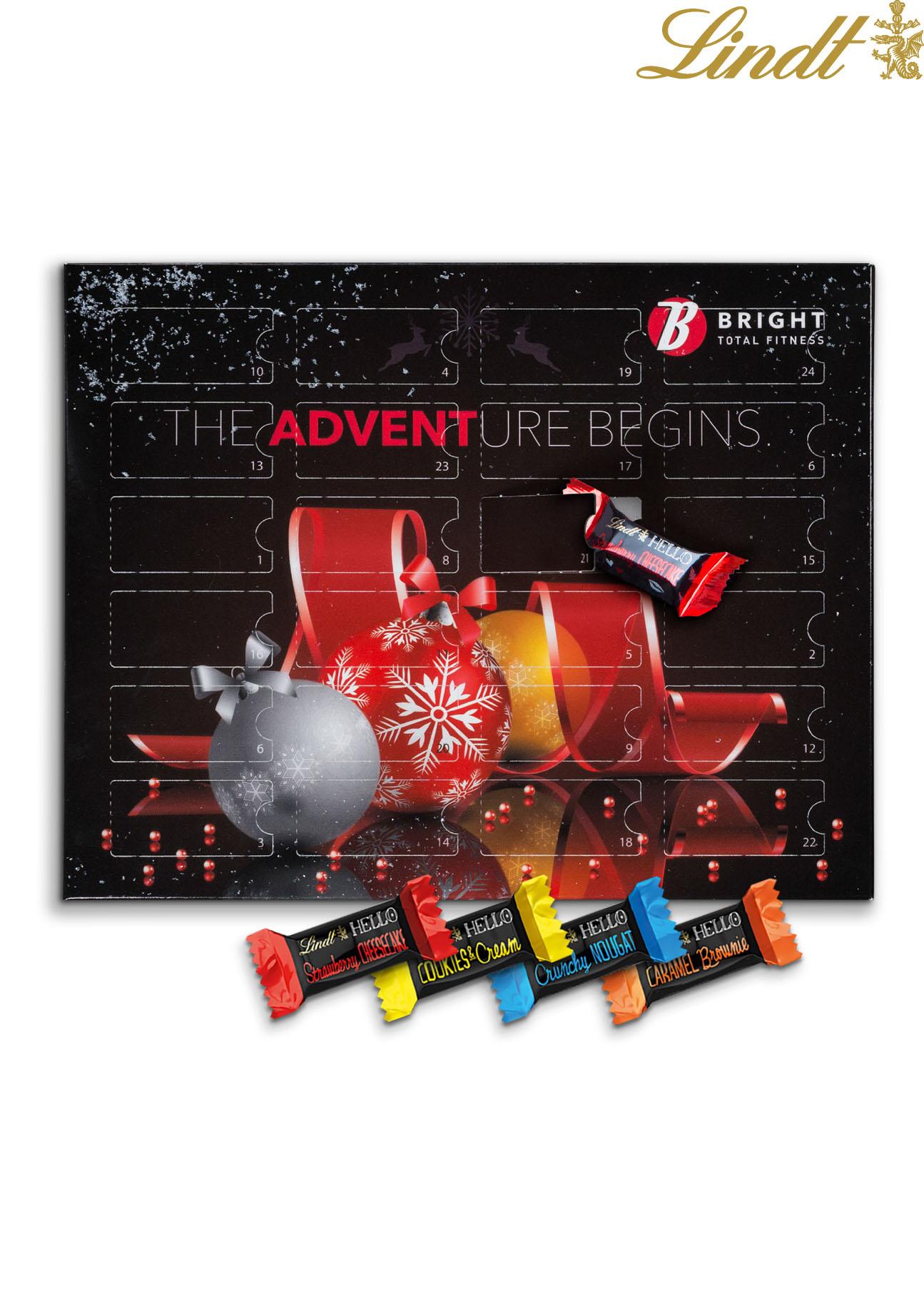 Lindor Weihnachtskalender.Lindt Adventskalender Hello Mini Merkur Werbemittel
