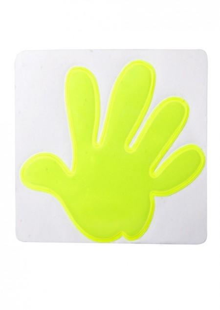 Reflektor-Aufkleber Hand