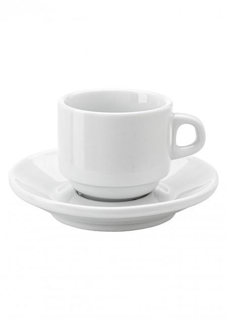 Espresso-Tasse 'Cannes' aus Porzellan