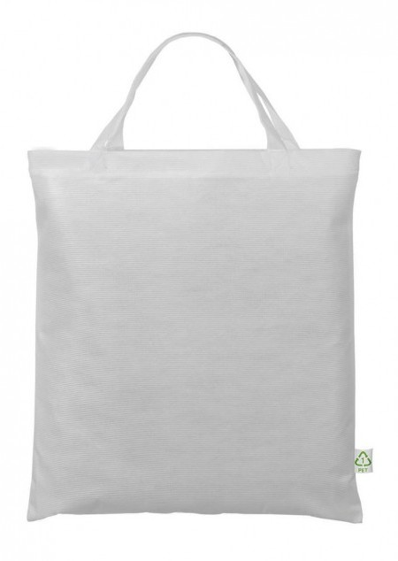 Recycling Tasche mit kurzen Henkeln