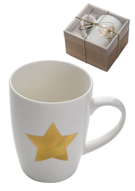 Tasse mit Sternaufdruck